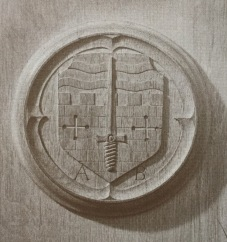 Plaque - Admiralty, Bath Branch - Adapted from the Arms of the City